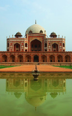 Foto op Plexiglas Delhi Humayun's Tomb façade
