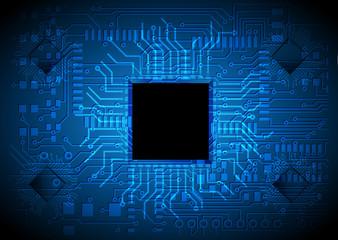 technology vector background, chip design