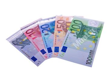 Euro Währung Fächer