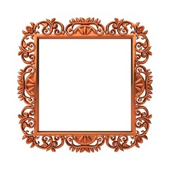 decorative metal frame