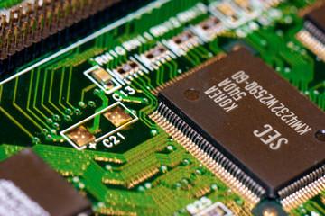 Computer Chip Platine