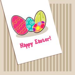 Beautiful Easter egg illustration