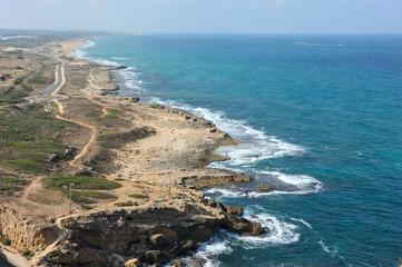 Coast of Israel.