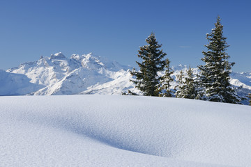Fototapete - Winterlandschaft