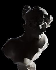 Antique bust sculpture of Sapho
