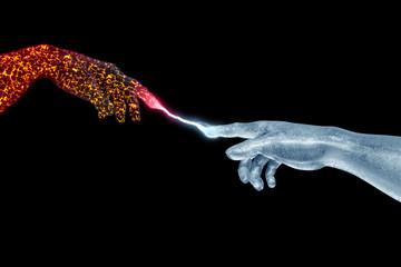 Feuer und Eis Adam und Gott