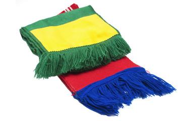 Bufandas de equipo de fútbol