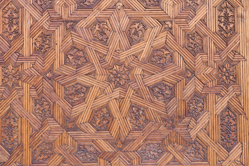 Wall Mural - Alhambra de Granada. Nasrid Palaces. Wooden ceiling detail