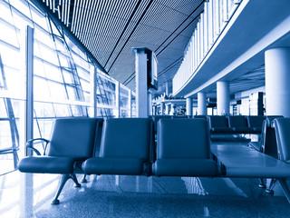 Airport Terminal Waiting Area