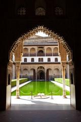Wall Mural - Alhambra de Granada. Patio de Arrayanes