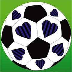 I love the Black and Blue football club