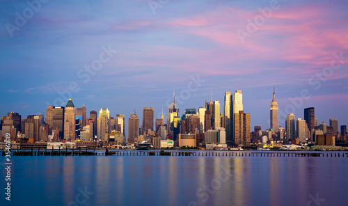Wall mural New York skyline