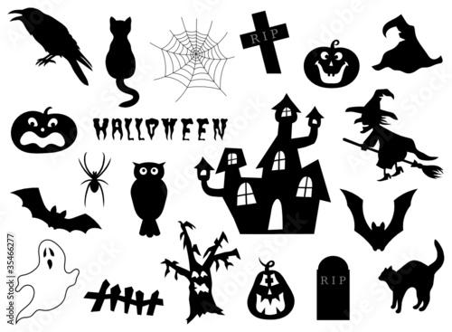 Halloween Set Stockfotos Und Lizenzfreie Vektoren Auf Fotoliacom