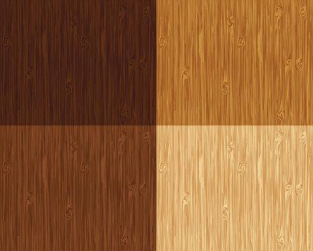 Seamless wooden pattern