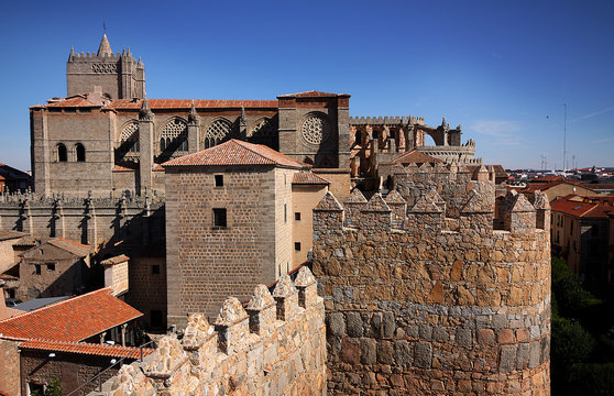 Spanish medieval town