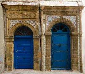 Moroccan doors in Essaouira
