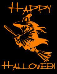 Happy Halloween! Witch!
