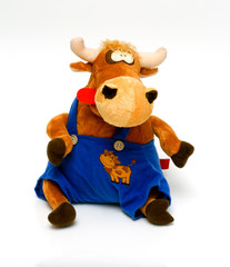 funny toy cow