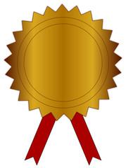 Goldenes Siegel