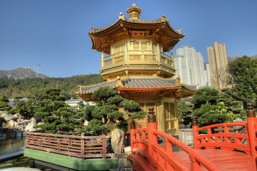 Nan Lian Garden Pavillion of Perfection, Hong Kong.