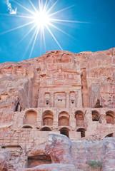Renaissanca tomb, Wadi al-Farasa valley, Petra, Jordan