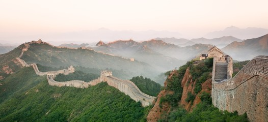 Photo sur cadre textile Chine Great Wall of China