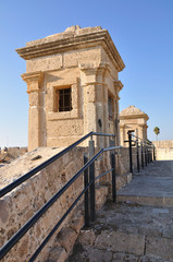 Turret on Acre fortification. Israel.