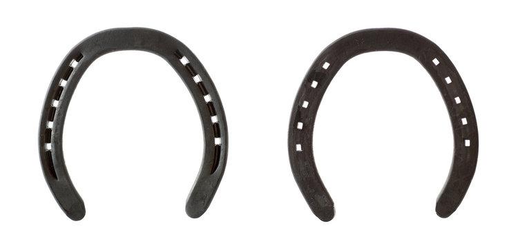 Both sides of horseshoe