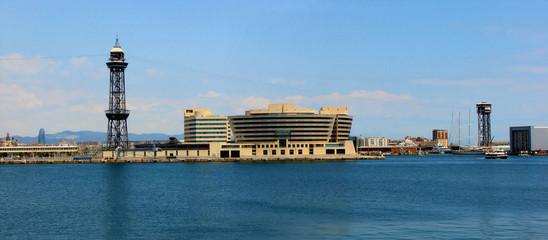 passenger seaport of barcelona, spain, catalonia