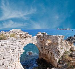 Kizkalesi (Maiden's Castle), near Mersin, Turkey