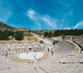 Roman theater in legendary Ephesus, Turkey