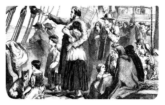 Emigrants 19th