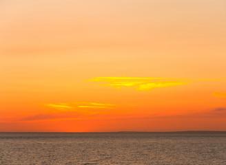 Dawn Clouds Night
