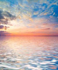 Morning Glory Water Panorama