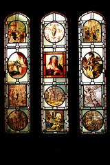 church glass in St. Michael Castle