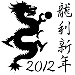 Chinese Year of the Dragon Symbol
