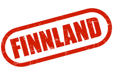 Grunge Stempel FINNLAND