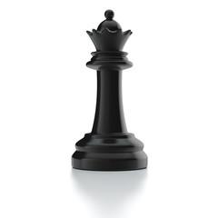 Schachspiel - schwarze Dame