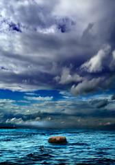 Sea. Sky. Stone.