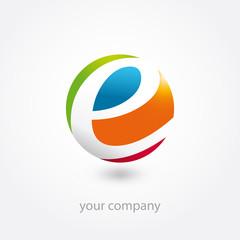 logo, logo entreprise, business logo, e