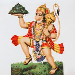 hindu  deity Hanuman