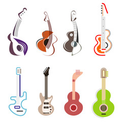 Guitar - vector icon