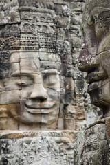 volti di pietra ad angkor