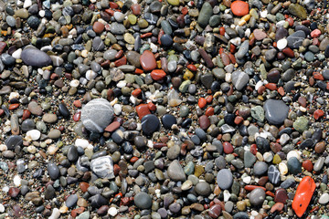 stones on the shore