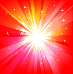 Abstract  Lights Explosion background