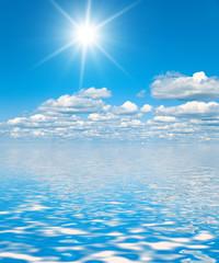 Blue Heavens Idyllic Wallpaper