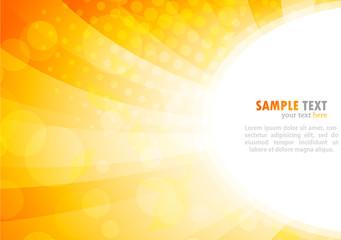 Bright background in orange color
