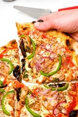 Grande part de pizza