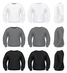Realistic Men's Sweater - Sweatshirt, Hoodie or Jacket