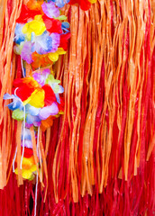 asian pacific islands souvenir of flowers